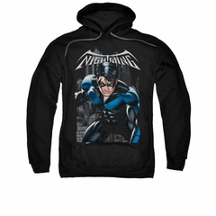 Nightwing DC Comics Hoodie Sweatshirt A Legacy Black Adult Hoody Sweat Shirt