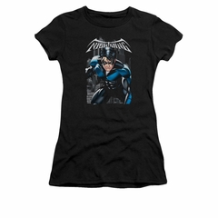 Nightwing DC Comics Shirt A Legacy Juniors Black Tee T-Shirt