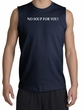 No Soup For You Muscle Shirt Navy