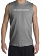 No Soup For You Muscle Shirt Sport Grey