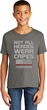 Not All Heroes Wear Capes Firefighter Kids Soft Style T-Shirt
