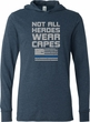 Not All Heroes Wear Capes Police Officer Lightweight Hoodie T-Shirt