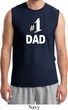 Number 1 Dad Mens Muscle Shirt