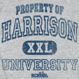 Old School Property Of Harrison  Shirts
