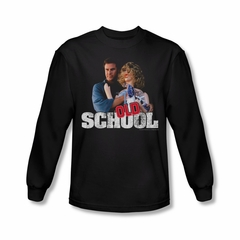 Old School Shirt Frank And Friend Long Sleeve Black Tee T-Shirt