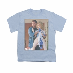 Old School Shirt Kids Frank And Doll Light Blue Youth Tee T-Shirt