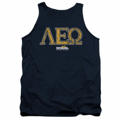 Old School Tank Top Leo Navy Tanktop