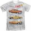 Oldsmobile Shirt Rocket Line Cars Sublimation T-Shirt Front/Back Print