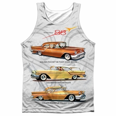 Oldsmobile Tank Top Rocket Line Cars Sublimation Tanktop