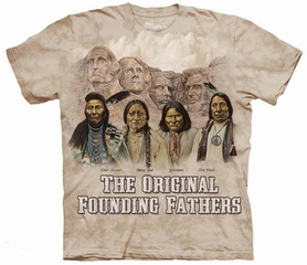 Original Founding Fathers Tie Dye Adult T-Shirt