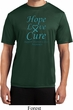 Ovarian Cancer Awareness Hope Love Cure Dry Wicking T-shirt