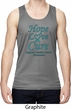 Ovarian Cancer Hope Love Cure Dry Wicking Tank Top