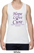 Pancreatic Cancer Hope Love Cure Dry Wicking Tank Top