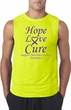 Pancreatic Cancer Hope Love Cure Sleeveless Shirt