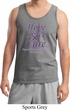 Pancreatic Cancer Tank Top Hope Love Cure Tanktop
