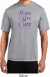 Pancreatic Cancer Tee Hope Love Cure Dry Wicking T-shirt