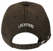 Panther Hat Lackpard 3D Distressed Patch Dark Olive Green Cap