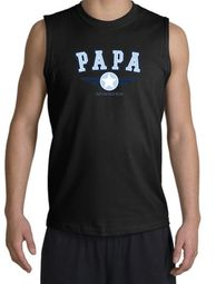 PaPa Shooter - Grandpa Grandfather Dad Father Adult Muscle Shirt Tee