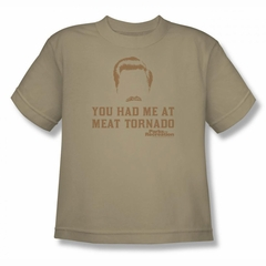 Parks And Recreation Shirt Kids Meat Sand T-Shirt