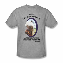 Parks And Recreation Shirt Lil Sebastian Athletic Heather T-Shirt