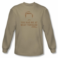 Parks And Recreation Shirt Meat Long Sleeve Sand Tee T-Shirt