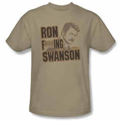 Parks And Recreation Shirt Ron Sand T-Shirt