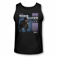 Parks And Recreation Shirt Tank Top Duke Silvers Black Tanktop