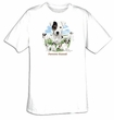 Parsons Russell T-shirt - Family Dog Tee Shirt