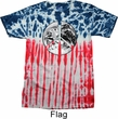 Peace Earth Patriotic Tie Dye Shirt