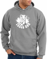 Peace Hoodie Peace Now Retro Hoody Athletic Heather