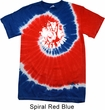 Peace Now Patriotic Tie Dye Shirt