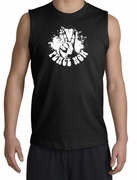 Peace Now Retro Muscle Shirt Shooters