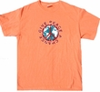 Peace Sign T-shirt - Give Peace A Chance Adult Neon Bright Tee