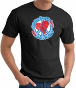 Peace Sign T-shirts All You Need Is Love Shirts - Adult