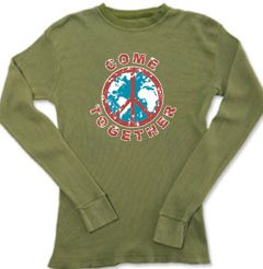 Peace Sign Thermal - Come Together Lightweight Long Sleeve Thermal