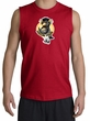 PENGUIN POWER Athletic Gym Workout Adult Muscle Shirt Shooter - Red