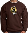 PENGUIN POWER Athletic Gym Workout Adult Sweatshirt - Brown