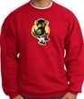 PENGUIN POWER Athletic Gym Workout Adult Sweatshirt - Red
