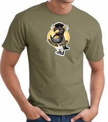 PENGUIN POWER Athletic Gym Workout T-shirt - Army