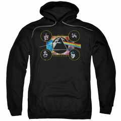 Pink Floyd Hoodie Dark Side Heads Black Sweatshirt Hoody