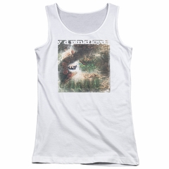 Pink Floyd Juniors Tank Top Saucerful Of Secrets White Tanktop
