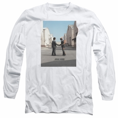 Pink Floyd Long Sleeve Shirt Wish You Were Here White Tee T-Shirt