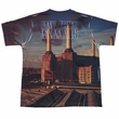 Pink Floyd Shirt Animals Sublimation Youth T-Shirt Front/Back Print