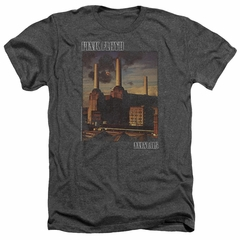 Pink Floyd Shirt Faded Animals Heather Charcoal T-Shirt