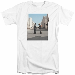 Pink Floyd Shirt Wish You Were Here White Tall T-Shirt