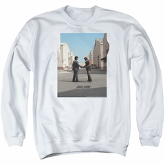 Pink Floyd Sweatshirt Wish You Were Here Adult White Sweat Shirt