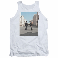 Pink Floyd Tank Top Wish You Were Here White Tanktop