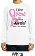 Pink For Someone Special Kids Dry Wicking Long Sleeve Shirt