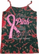 Pink For Someone Special Ladies Tie Dye Camisole Tank Top