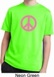 Pink Peace Kids Moisture Wicking Shirt